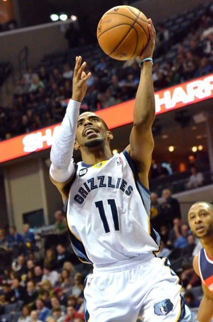 Mike Conley also has the ball more in the teams post-trade offense, with good results.