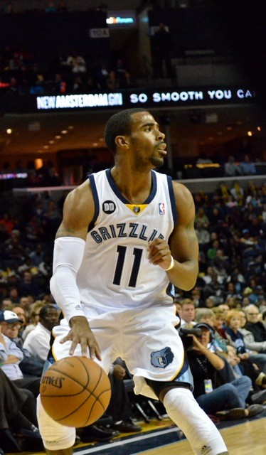 Mike Conley broke out of his December slump in a big way against the Celtics.