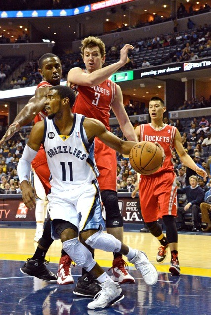 Mike Conley has been the engine driving the Grizzlies offensive improvement.