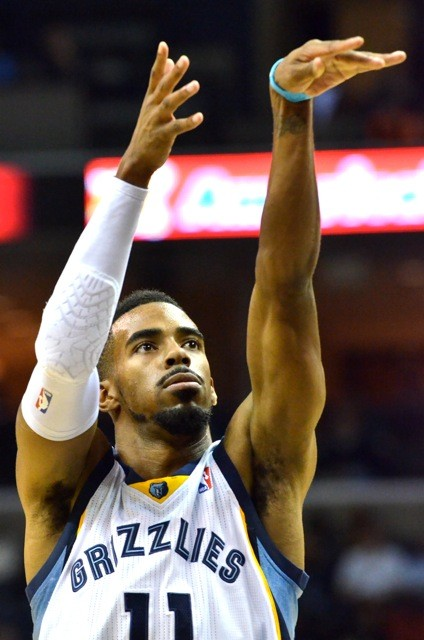 Mike Conley: right- or left-handed?
