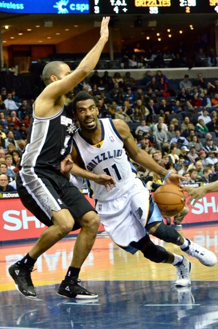 Mike Conley was incredible against San Antonio last night.