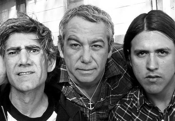 Mike Watt (center)and the Missingmen