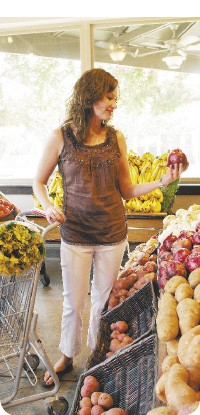 Miss Cordelia's Grocery in Harbor Town has a wide selection of produce, a meat counter, and a deli. - JUSTIN FOX BURKS