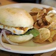 Momma's Veggie Sandwich at Three Angels Diner