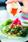 """""""Nasty Bits"""" tacos at Tacos Borolas"""