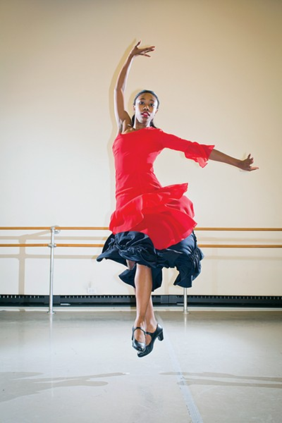 NBE dancer Briana Brown - JUSTIN FOX BURKS