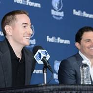 Robert Pera, Jason Levien Make Grizzlies Debut