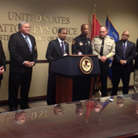 U.S. Attorney Edward Stanton discusses federal indictment of four jailers.