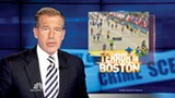 Newscaster Brian Williams