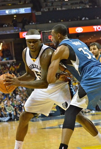This happened often last night, and it rarely ended well for Thaddeus Young. - LARRY KUZNIEWSKI