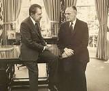 Nixon and Earl Butz