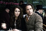 Noomi Rapace and Robert Downey Jr.