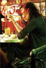 Norah Jones as the heartbroken, pie-loving Elizabeth in My Blueberry Nights