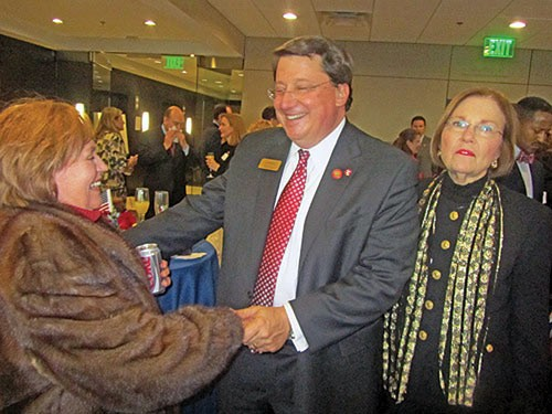 Norris hosting a reception during inaugural weekend in Nashville
