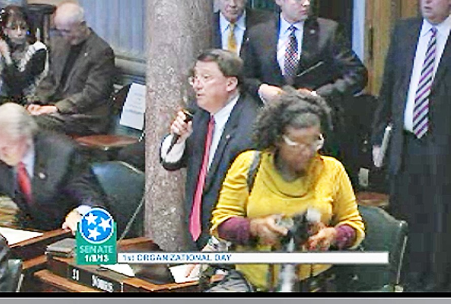 Norris on Tuesday at opening of 2013 legislative session