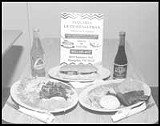 PHOTO BY JOHN LANDRIGAN - Not a Tex-Mex meal.