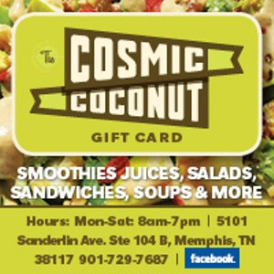 Now is the best time to stop by the Cosmic Coconut & pick up some fresh juice to help keep you feeling good during the holiday season.  Our gift cards also make a wonderful gift for friends and loved ones. Come by and have a warm cup of homemade soup and some hot tea or coffee.