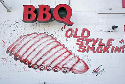 Old Style Smokin! BBQ on S. Parkway