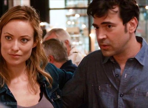 Olivia Wilde and Ron Livingston in Drinking Buddies