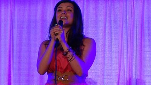 Olivia Wingate sings Bye Bye Birdie.