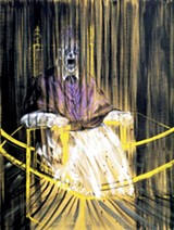 One of Francis Bacon's screaming popes