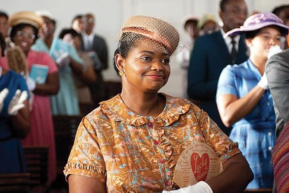 "One of ""the help"": actress Octavia Spencer"