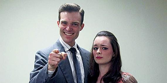 Onken and Howard as Steve and Sara