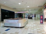 Only a handful of businesses inside - the Raleigh Springs Mall remain open.