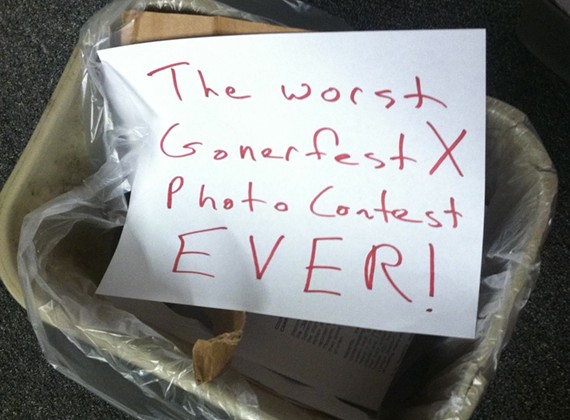 Our Terrible Gonerfest Photo Contest Disaster