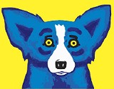 Painting the Blue Dog is freeing for George Rodrigue