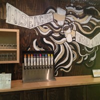 Sneak Peek at Wiseacre Brewing Company Patrons can sample Wiseacre's Tiny Bomb Pilsner and Ananda IPA at this  bar.
