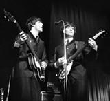 PAUL BERRIFF - Paul McCartney and John Lennon