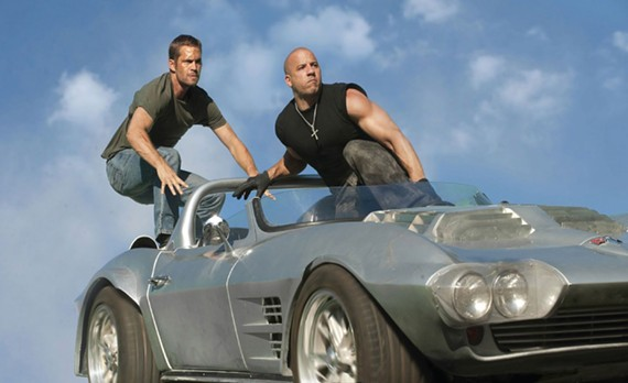 Paul Walker and Vin Diesel in Fast Five