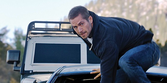 Paul Walker in Furious 7