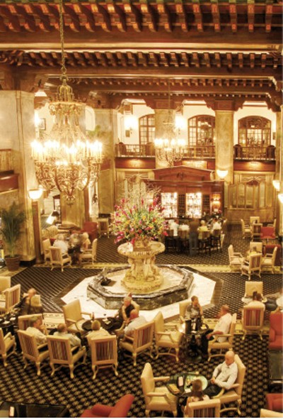 "Peabody Lobby Bar, 1st place: ""Best Place To Get a Martini"" - JUSTIN FOX BURKS"