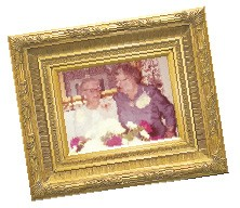 Pictured: Annie Miller (on the right), the last family resident of Magnolia Manor
