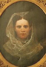 Priscilla McNeal's portrait: Stare long enough and she'll come to life. - JUSTIN FOX BURKS