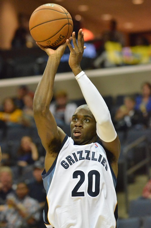 Quincy Pondexter is out indefinitely with a stress fracture.