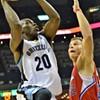 Grizzlies sign forward James Johnson from D-League