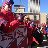 Rally for AutoZone Park Draws Hundreds Before Council Vote