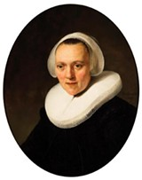 Rembrandt's Portrait of a Forty-Year-Old Woman.