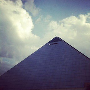 "Remembering strange categories: The Pyramid was voted ""Best Eyesore"" <em>and</em> ""Best Architecture"" for both 1997 and 1998."