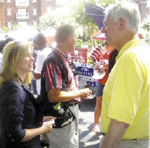 Rep. Blackburn with District Attorney General Bill Gibbons - JB