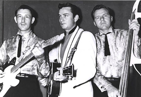 Reunited: Luther Perkins, Johnny Cash, and Marshall Grant
