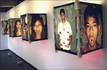 "Richard Lou explores multiculturalism in ""Stories on My Back"" at the Power House"