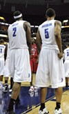 Robert Dozier and Antonio Anderson -- winningest players in NCAA history.