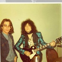 Robert Johnson's Close Personal Friends Robert Johnson and Marc Bolan in London, 1972. Courtesy of Robert Johnson