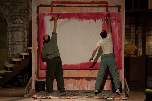 Rothko and (metaphoric) son.