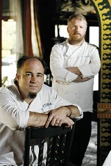 JUSTIN FOX BURKS - Roustica owner Kevin Rains and his right-hand man Andrew Masters