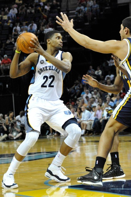 Rudy Gay made big plays down the stretch at both ends of the floor.